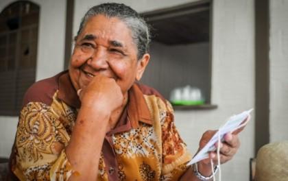 Guajarina Margarido é fazedora de cultura em Rio Branco (Foto: Arison Jardim)
