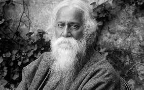 """Rabindranath Tagore (1861-1941), escritor indiano, recebeu o Prêmio Nobel de Literatura em 1913, pela coleção de poemas Gitanjali (pronuncia-se """"guitándjali"""")"""