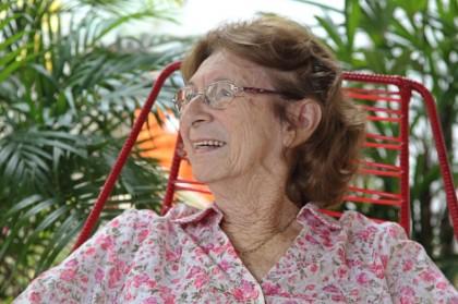 Robélia Fernandes de Souza é uma escritora acreana (Foto: Angela Peres)