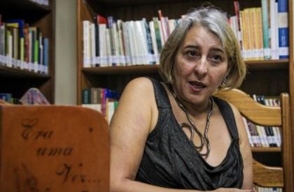 Gislayne Avelar de Matos é contadora de histórias e pesquisadora da tradição oral (Foto: Arison Jardim)