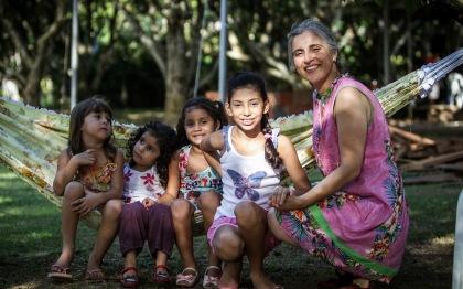 Juliana, Mariana, Alice, Geovanna e eu (Foto: Arison Jardim)