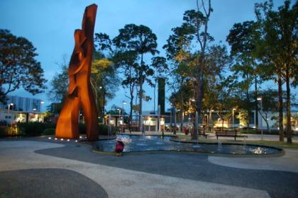 Praça da Revolução, Rio Branco, Acre (Foto: Angela Peres)