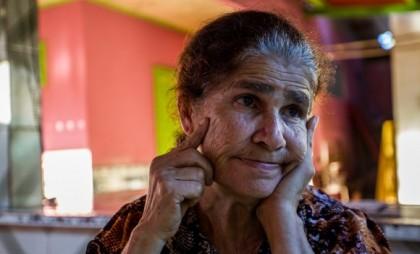 Dona Alda Lopes de Amorim é líder de movimentos sociais no Acre (Foto: Arison Jardim)