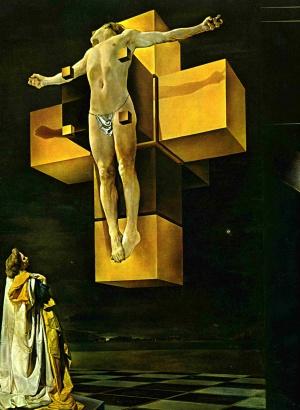 Crucificação, Salvador Dali, 1954.