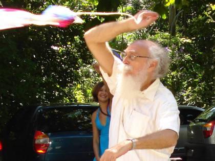 O contador de histórias e escritor acreano Francisco Gregório Filho (Foto: Kinita Gold)