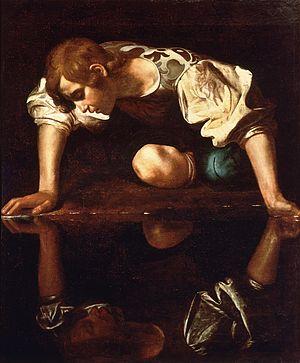300px-Narcissus-Caravaggio_1594-96